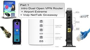 Part 1 Intro Duel Open VPN Router + Airport Extreme+ Voip Nettalk ... 1png The 7 Best Vpnenabling Devices To Buy In 2018 Vpn Tunnels Usg20wvpn Firewall User Manual Bbook Zyxel Communications Hideme Use To Unblock Voip Services Like Skype How Be Hipaa Compliant Flowroute Blog Multi Site Network Design 1 Link 2 Vpns Cfiguration And Settings Cisco Tie Line Networking Study The Approach For Virtual Private Implementation Bipac 4500vnoz 4g Lte Sim Embded Wirelessn Auto Connectivity Giganet Wireles Internet Part 3 Pia Open Duel Router Airport Extreme Voip Nettalk