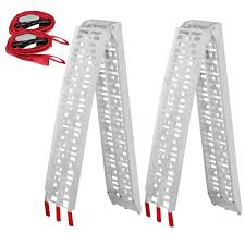 100 Aluminum Loading Ramps For Pickup Trucks Amazoncom Yaheetech Pair 75 Truck ATV
