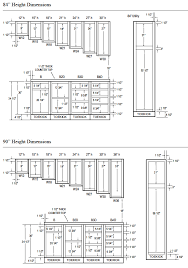 Kitchen Cabinet Dimensions PDF