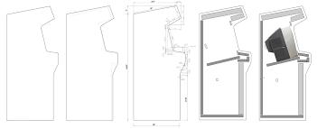 X Arcade Mame Cabinet Plans by Home Arcade Machine Part 7 Cabinet Plans Retromash