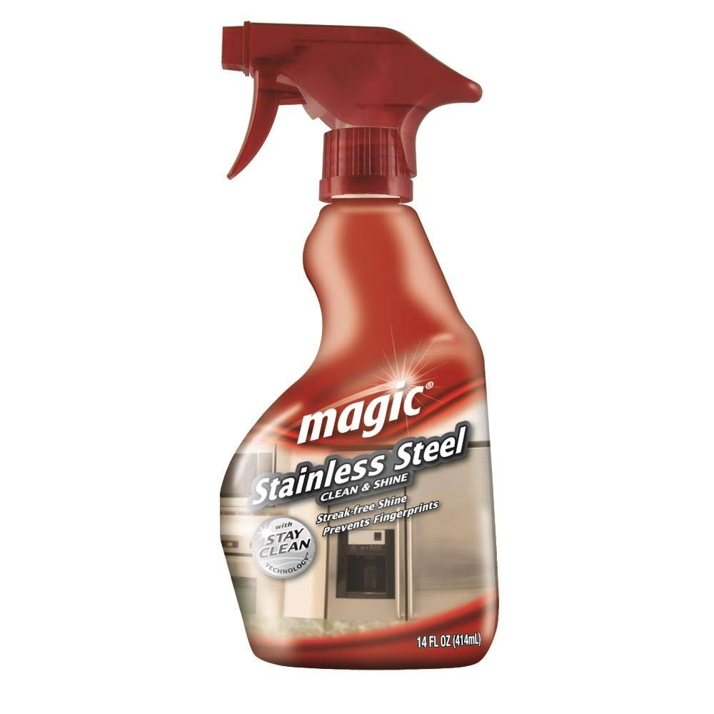 Magic Stainless Steel Cleaner - 14oz
