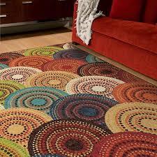 Walmart Patio Area Rugs by Orian Gomaz Area Rug Multi Color Walmart Com Store Finds