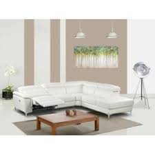 canape angle cuir relax electrique marque generique canapé d angle relax électrique en cuir sitia
