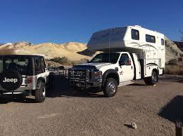 100 Off Road Truck Camper Texas Springs Death Valley California Bigfoot Truck Camper On F