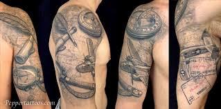Unify Tattoo Company Tattoos Custom Travel Themed