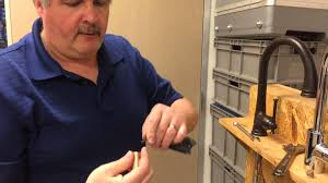 Removing Moen Kitchen Faucet Aerator by How To Clean A Flow Restrictor For A Kitchen Faucet Youtube