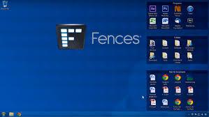 mettre icone sur le bureau fences organiser votre bureau windows mais pas que