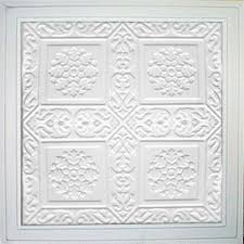 24x24 Pvc Ceiling Tiles by Ankara White 24x24