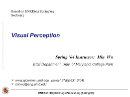 Umd Ece Help Desk by Umcp Enee631 Slides Created By M Wu 2004 Ppt Download