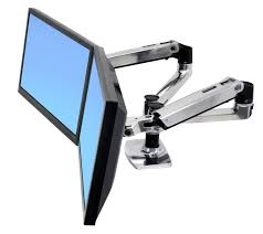 Ergotron Lx Desk Mount Lcd by Ergotron Lx Desk Mount Lcd Adjustable Arm 99 Side By Side 198