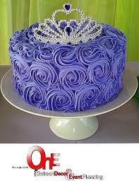 Pink And Purple Birthday Cake Ideas New Rosette Cake Purple Princess Cakes E