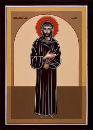 icon badwi st francis of assisi jpg