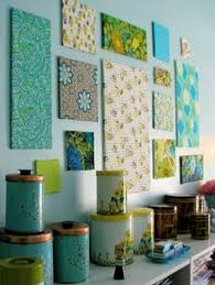 11 New Things To Put On Your Gallery Wall Fabric PanelsFabric ArtDiy