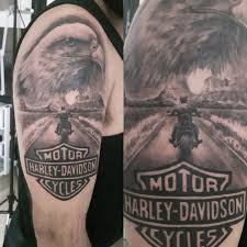 Best 25 Harley Davidson Tattoos Ideas On Pinterest