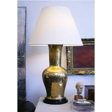 Christopher Spitzmiller Table Lamps by Christopher Spitzmiller Single Gourd Lamp In Brown Marble Shaun