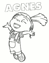 Bello Picture To Print Coloring Book With Carl Happy Agnes Printable Image