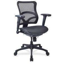 Tempur Pedic Office Chair Tp4000 by Lorell Executive Mesh High Back Chair Mesh Black Seat Steel