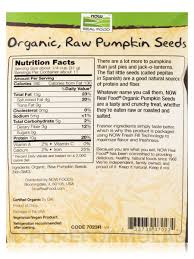 Roasted Unsalted Pumpkin Seeds Nutrition Facts real food organic pumpkin seeds raw unsalted 12 oz 340 grams