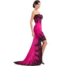 wholesale designer grace karin beige red lace evening dresses