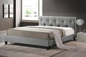 King Platform Bed With Fabric Headboard by Home Design Clubmona Fancy Full Size Fabric Headboard