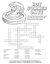 Hot Summer Days Framework Puzzle