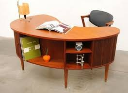 Mad for Mid Century Mid Century Desks with a Bar