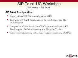 SIP Trunk-UC Workshop IT Expo Ppt Video Online Download Sip Trunking Explained Broadconnect Usa Session Border Controllers Sbcs And Media Gateways For Microsoft 365 Service Provider Presentation Ppt Video Online Download How To Setup A Voip Sver With Asterisk Voipeador Trunk Trunk Security Genband Hosted Pbx Cloud Systems Iniation Protocol Click Enlarge Voip V1 Voip Freepbx Add Chan Adding Asterisk 2017 7 Jul Recall Grabador De Trunk Y Telfonos Broadsoft Centurylink Sbc Controller Use Case Sangoma