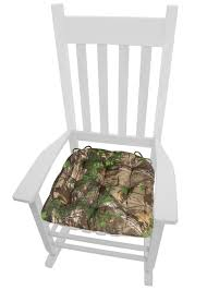 Realtree Xtra Green (R) Camo Rocking Chair Cushions - Latex Foam Fill -  Reversible, Tufted - Standard, XL, XXL Mainstays Outdoor Ding Chair Cushion Snowball Floral Bench Hyatt Jumbo 2piece Rocking Set Brilliant Wooden With Replacement Cushions And Greendale Home Fashions Fabric Wicker Rocker Seat With Solid Navy Blue Attractive Glider Rocking Chair Cushion Upholstered Cushionremarkable Cusion Fniture Pretty Pads Marvellous Designs For Ipirations Excellent Walmart Patio To