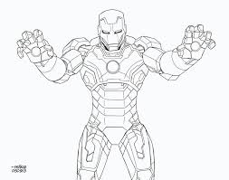 Iron Man Mark 42 BnW By MikeDimayugadeviantart On DeviantART