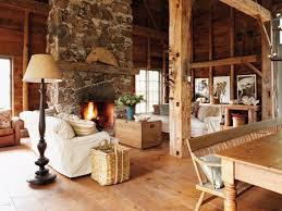 Rustic Style Family Room Ideas
