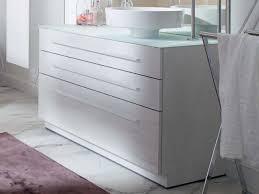 burgbad crono waschtischunterschrank konsole für 1 becken