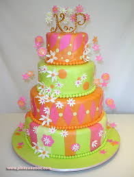M Magazine Wedding Day Keepsakes  Pink Cake Box
