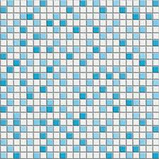 blue mosaic tile gm0001be small brick glass mosaic blue home
