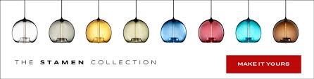 colored glass pendant light featured by design within reach