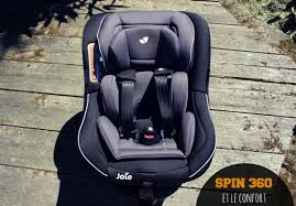 siege auto jumeaux j ai testé le siège auto spin 360 de joie un siège auto isofix