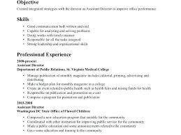 Resume Skills Communication Example Examples And Free Summary