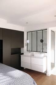 salle d eau chambre chambre avec salle d eau ouverte maison design bahbe com