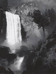 Ahwahnee Dining Room Gift Certificate by Ansel Adams På Gl Holtegaard Ansel Adams Vernal Falls And