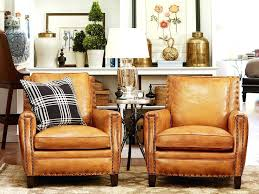 Round Living Room Chairs Incredible Rustic Leather