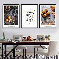 wandkunst bilder moderne kuchen dessert poster leinwand