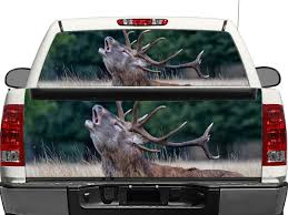 100 Rear Truck Window Decals Deer Nature OR Tailgate Decal Sticker Pickup SUV