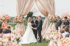 Outdoor Wedding Ceremony Canopy Toronto