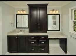 Bath Vanities With Dressing Table bathroom vanity with makeup table youtube