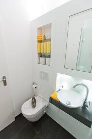 ideen für kleine bäder die dusche als durchgang modern