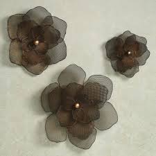 Flower Wall Decor Target by Awesome Wall Decor Set Of Two Flower Metal Flower Wall Decor