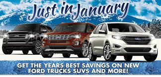 January Savings On New Ford Trucks And SUVs At Fremont Ford In Wyoming!