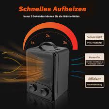 heizgerät mit stufenlosem thermostat umkipp