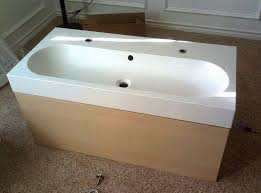 Ikea Double Faucet Trough Sink by Ikea Braviken Sink Need Specailized Plumbing Terry Love