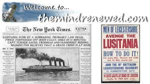 Lusitania Sinks In Real Time by Alt Media Delphi