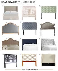 Roma Tufted Wingback Bed Frame by 72 Affordable Headboards At Every Price Point Emily Henderson